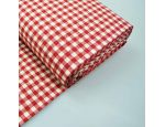 Checks Cotton & Linen Blend Fabric