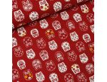 Owl Japanese Fabric