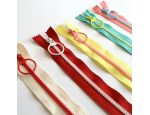 Colourful Zipper with Ring Pull
