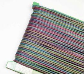Wax Cord Purple/Blue/Green