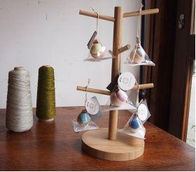 Cohana Pincushion of Cypress and Banshu Textiles