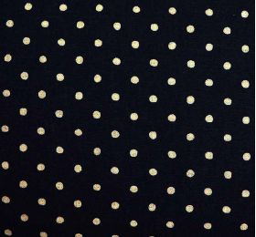 cotton and linen bland dots fabric