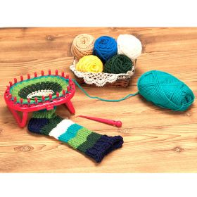 Standing Oval Knitting Loom