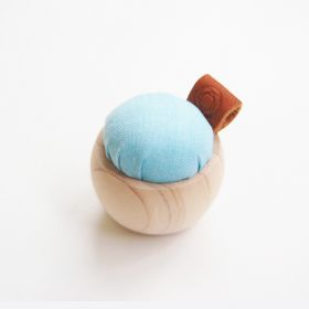 Cohana Pincushion of Cypress and Banshu Textiles