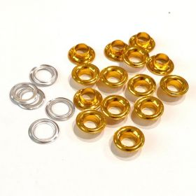 10mm Gold Eyelets