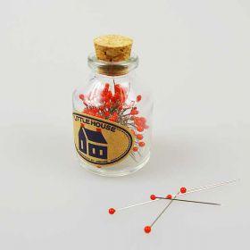 Pins in a bottle