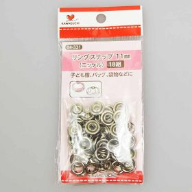 Ring Snap Buttons 11mm