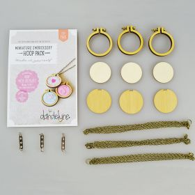 2.5cm Miniature Hoop with Necklace