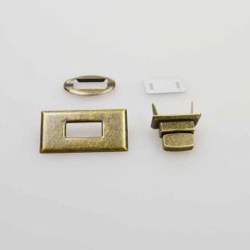 Rectangle Trun Lock