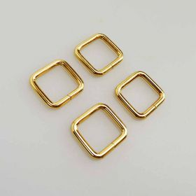 20mm Gold Rectangle Ring
