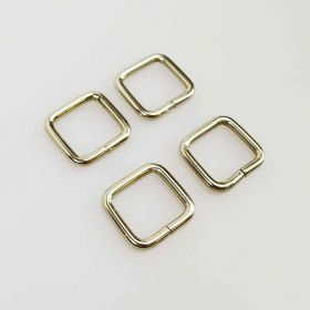 20mm Silver Rectangle Ring