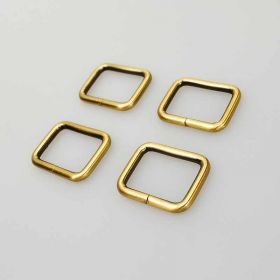 30mm Rectangle Ring Antique Brass