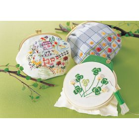 Clover Embroidery Hoop 12cm